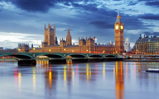 Обои London, Thames River, UK, Westminster Abbey, England, Биг Бен, Лондон, Big Ben, Англия