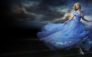 Обои CINDERELLA, HD, Family, 2015, Beautiful, Light, Sky, Lips, Decollete, Dlouds, Cloudy, Romance, Eyes, Woman, Hair, Lily James, Girl, Butterflies, Lover, Face, Tits, FULL, Film, Adventure, Drama, Blue, Sun, Blonde, Fantasy, Movie, Dress, Walt Disney Pictures, Tale