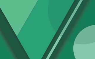 Обои Android, Material, Lines, 5.0, Green, Lollipop, Design, Abstractions, Circles