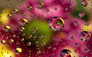 Обои abstract, floral, colors, bubbles, пузыри, абстракция, colorful