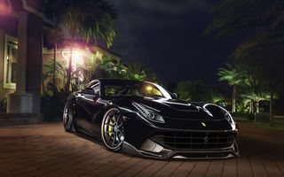 Обои Ferrari, Capristo, F12, Wheels, ADV.1, Systems, Exhaust, GmbH, Boutique, Front, Berlinetta