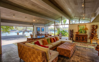 Картинка hawaii, boat, home, pacific ocean, luxury, living room