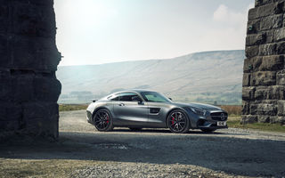 Картинка 2015, мерседес, GT S, Edition 1, AMG, Mercedes, C190, UK-spec, амг