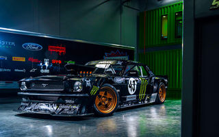 Картинка Ford, Front, Mustang, Monster, RTR, Energy, Ligth, Gymkhana, SEVEN, Ken, Hoonicorn, 845 hp, 1965, Block