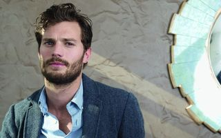 "Обои Jamie Dornan, Paul Spector, film, Axel Von Fersen, movie, Graham Humbert, Sofia Coppola, Once Upon a Time, James ""Jamie"" Dornan, British, Fifty Shades Of Grey, Christian Grey, wall, beard, man, The Fall, cinema, pose, model, musician, Fifty Shades Darker, Fifty Shades Freed, actor, texture, mirror, Northern Irish, book"