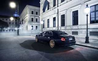 Обои 2015, Rolls-Royce, Ghost, Spofec Black One, роллс-ройс