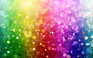 Обои bokeh, lights, цвет, rainbow, colorful, огни