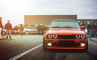 Картинка BMW, Front, Ligth, Car, M3, Drift, E30, Sun