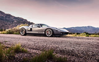 Обои ford gt, supercar, lunchbox photoworks