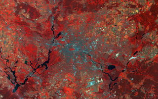 Картинка Earth From Space, Germany, Sentinel-2A, Berlin