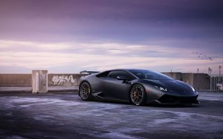 Обои Lamborghini Huracan, LB724, William Stern, LP 610-4
