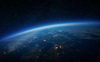 Картинка world, space, night