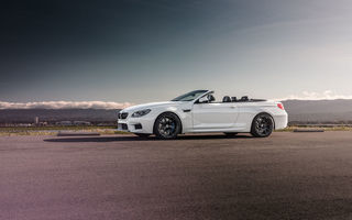 Картинка BMW, Strasse, Forged, Convertible, White, Front, Wheels, M6