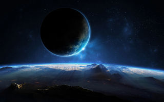 Картинка planet, sci fi, view, space, landscape
