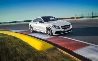 Обои Мерседес, 2017, AMG, Coupe, Mercedes-Benz C63