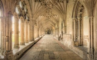 Обои Галерея, Canterbury, Кентербери, Англия, Kent, England, Кентерберийский собор, Canterbury Cathedral