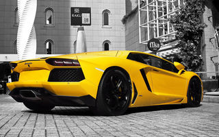 Обои lamborghini, yellow, авентадор, ламборджини, желтый, aventador, lp 700