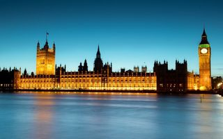 Обои лондон, london, ночь, англия, night, uk, thames river, big ben, england
