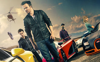 Обои dominic cooper, need for speed, 2014, movie, imogen poots, bugatti veyron super sports, aaron paul