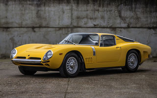 Картинка Bizzarrini, Strada Bertone, Ретро, 1966, GT, 5300, Желтый