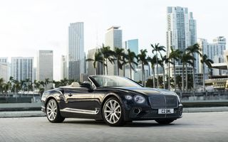 Картинка Bentley, GT, Convertible, Continental, V8