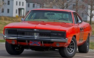 Картинка dodge, charger, 1969, general lee, rt