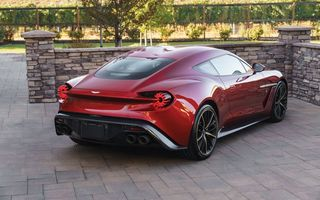 Обои Zagato, Vanquish, Астон Мартин, Aston Martin, Shooting Brake
