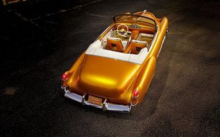 Обои cadillac, the golden empress