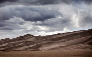 Обои природа, great sand dunes national park, дюны, пустыня