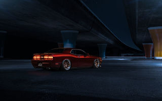 Картинка wheels, challenger, candy, american, Muscle, rear, Red, garde, car, dodge