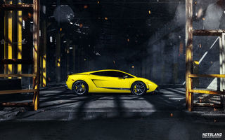 Картинка Lamborghini, notbland, бок, lp 570-4, superleggera, Webb bland, диски