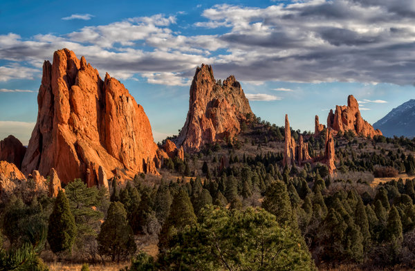 Обои Colorado, Colorado Springs, Garden of the Gods