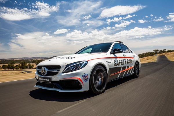 Обои Mercedes-Benz, W205, C-Class, Safety Car, мерседес, амг, AMG
