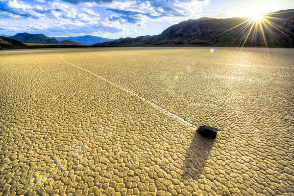 Обои Death Valley, Final Playa Racetrack, Landscape