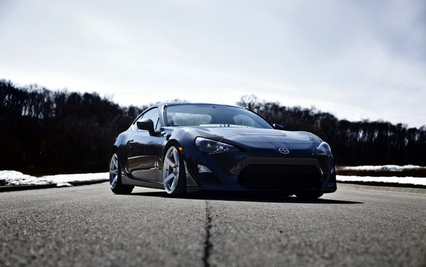 Обои tuning, fr-s, scion