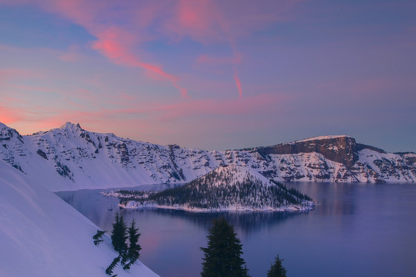 Обои oregon, the crater lake blues, crater lake