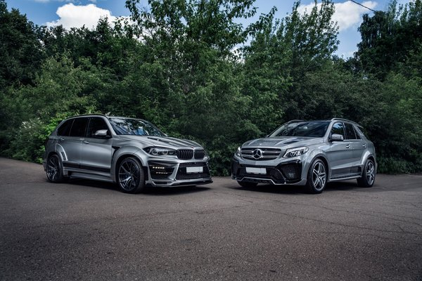 Обои RENEGADE, BMW, Mercedes, X5M