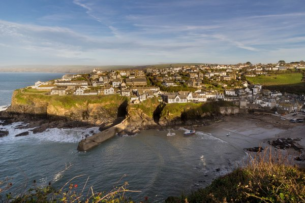 Обои United Kingdom, England, Port Isaac