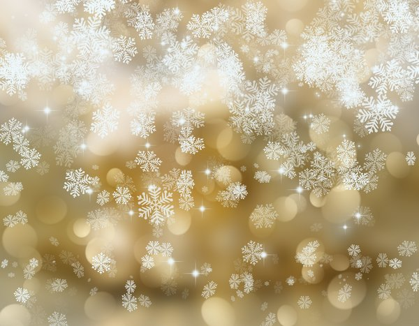 Обои текстура, golden, snowflakes, снежинки, with