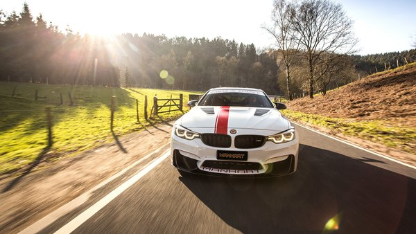 Обои BMW M4, 2018, 550, MH4, Manhart Racing