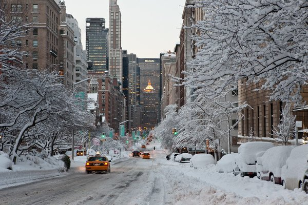 Обои NYC, winter, city, город, New_York, USA