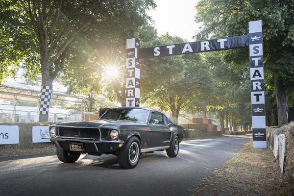 Обои Ford, Goodwood, 1968, 2018, Fastback, Bullitt, Mustang GT