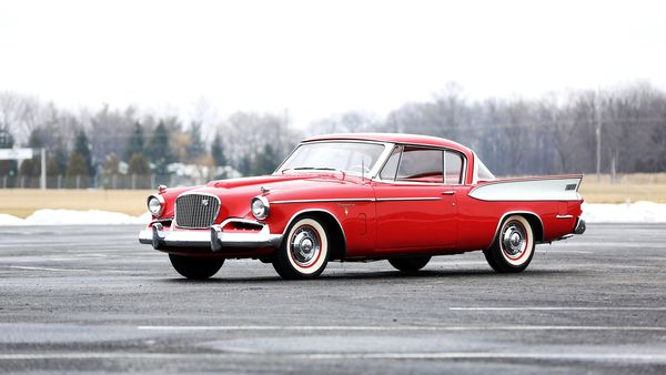 Обои 1957, студебеккер, Golden Hawk, Studebaker