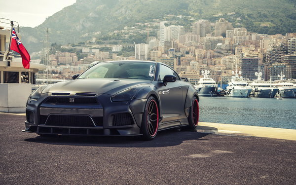 Обои nissan, тюнинг, gt-r, car, prior design