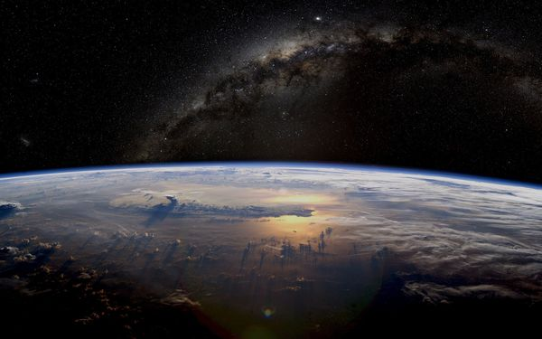 Обои Milky, hd planet, earth, beautiful