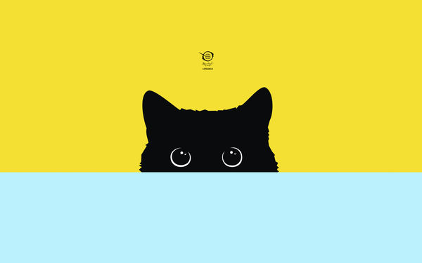 Обои kitty, drawings, zelko, bfvrp, radic, artworks, art, pictures, images, digital, vector, cats