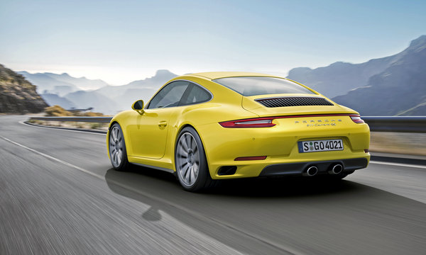 Обои 2015, 911, купе, Carrera 4S, Coupe, Porsche, порше