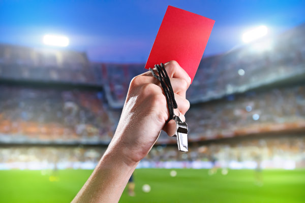 Обои red, whistle, football