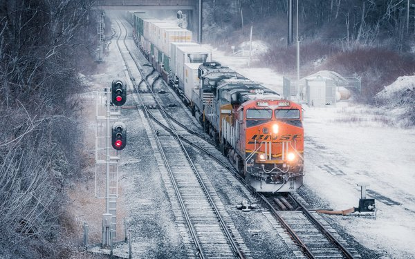 Обои Снег, Зима, Locomotive, Winter, Pennsylvania, Пенсильвания, Локомотив, Snow