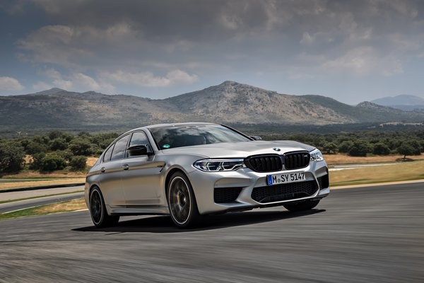 Обои BMW, M5 Competition, M5 F90